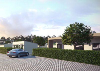 Poilsio namelių komplekso statybos projektas. Paliepgirių kel. 33A, 33B, Palanga