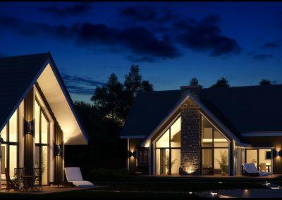 Vieno buto gyvenamojo namo su pagalbiniais namų ūkio pastatais, statybos projektas. Užkanavės g. 19, Palanga