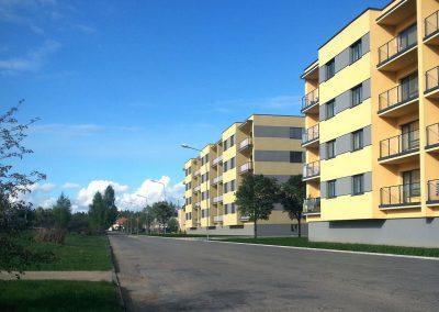 Daugiabučio gyvenamojo namo statybos projektas. Bangų g. 13, Palanga