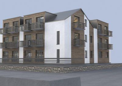 Svečių namų statybos projektas. Jūros g. 8A, Palanga
